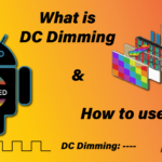 what is dc dimming in amoled